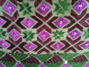 What is Phulkari work