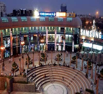 Shopping malls in Delhi
